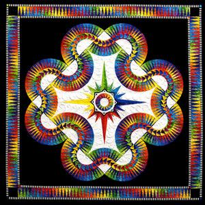 Aurora Pattern by Jacqueline de Jonge