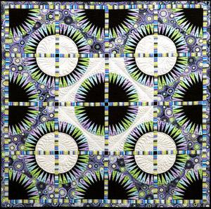 Black Beauty Pattern by Jacqueline de Jonge