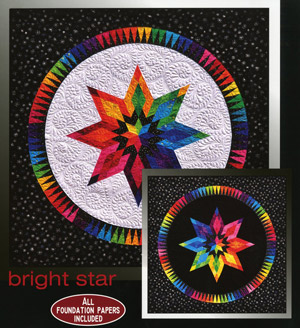 Bright Star Pattern by Jacqueline de Jonge