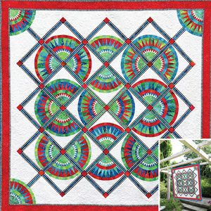Square Dance Pattern by Jacqueline de Jonge