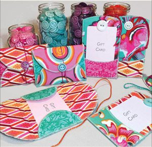 Gifty Card Holders Pattern by Joan Hawley