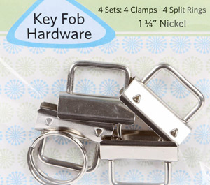 Key Fob Hardware 25ct by Joan Hawley