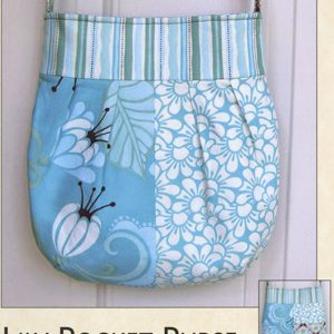 Lily Pocket Purse Pattern by Joan Hawley