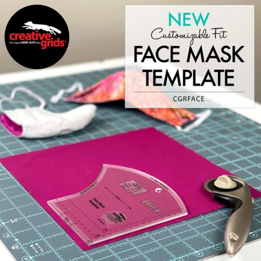 Face Mask Template By Creative Grids