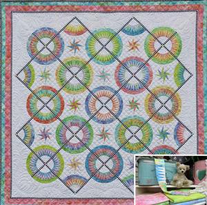 La Vie Est Belle Pattern by Jacqueline de Jonge