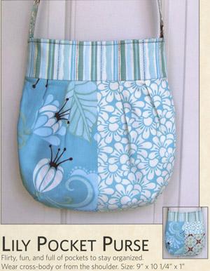 Lily Pocket Purse Pattern by Joan Hawley