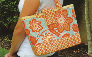 Miranda Day Bag Pattern by Joan Hawley
