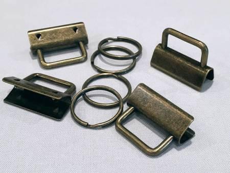 Fobio Hardware Ant Brass 4ct